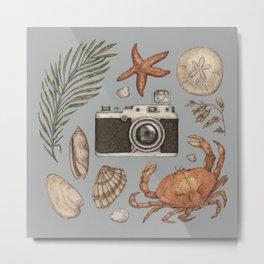 Summer Beach Collection Metal Print