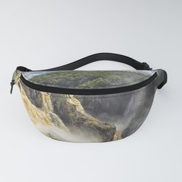 Beautiful wild waterfall Fanny Pack