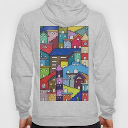 Crazy Houses Hoody
