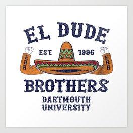 Peep Show - El Dude Brothers Art Print