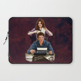 Murder, He Wrote Laptop Sleeve