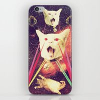 saga iPhone & iPod Skins featuring galactic Cats Saga 4 by Carolina Nino