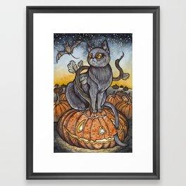 All Hallows Eve Framed Art Print