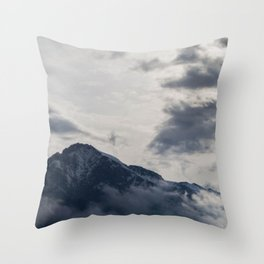 paradise over the mountain 2 Throw Pillow