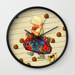 THE LITTLE LADY I Wall Clock