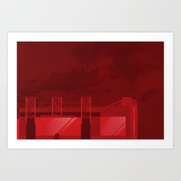 The Theatre of Dreams Art Print