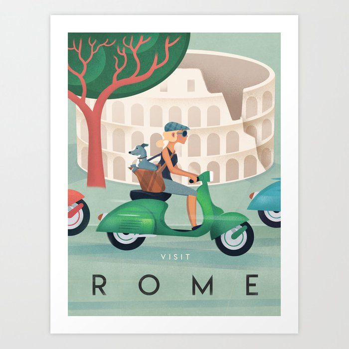 Image result for Rome antique posters