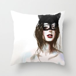 Superheroes SF Throw Pillow