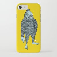 bigfoot iPhone & iPod Cases featuring Bigfoot by Mason W