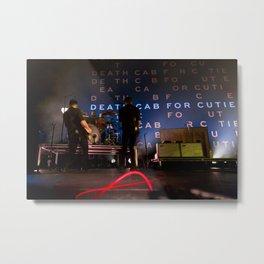 Death Cab For Cutie Metal Print