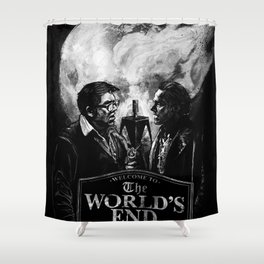 The World's End Shower Curtain