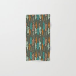 Feather Pattern Hand & Bath Towel