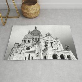 French Sacre Coeur church in Paris Rug