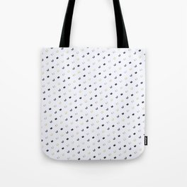 Cat Faces All Over Tote Bag