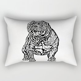 American Bully Rectangular Pillow