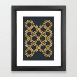 Deco Geometric 01 Framed Art Print