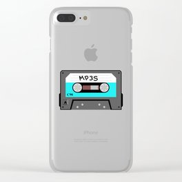 Mixtape MP3s Clear iPhone Case