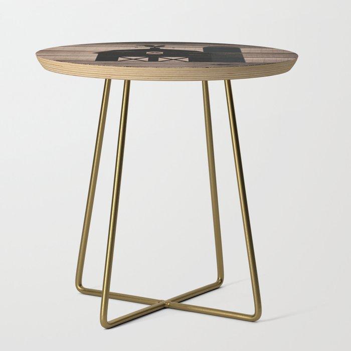 Ft Myers Living Room Rustic Side Table Af18mwstsg Walter E Smithe Furniture Design