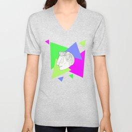 Dface Geometric Unisex V-Neck