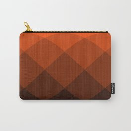 Orange to Black Ombre Signal Carry-All Pouch