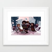 bouletcorp Framed Art Prints featuring Tribute by Bouletcorp