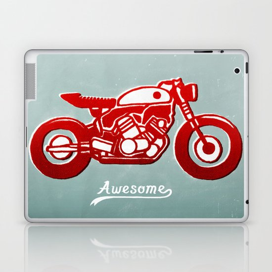 Vintage Bike Laptop & iPad Skin
