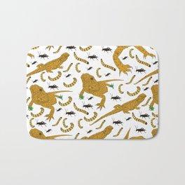Large Bearded Dragon pattern Bath Mat