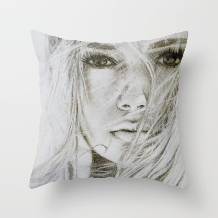 Stay with me Throw Pillow