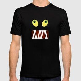 Funny monster face T-shirt