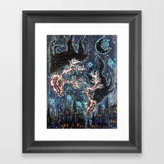 Fonta Fauna Framed Art Print