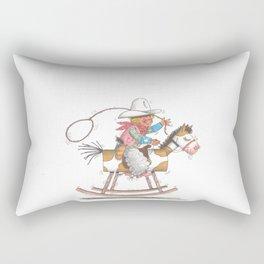 Ride 'em Cowboy Rectangular Pillow