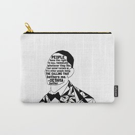 Jairon Brown - Black Lives Matter - Series - Black Voices Carry-All Pouch