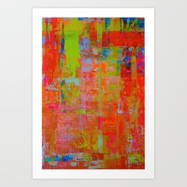 Alegria 2 - Diptych Art Print