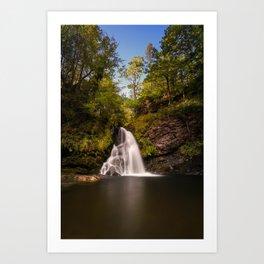 Tourmakeady Waterfall Art Print