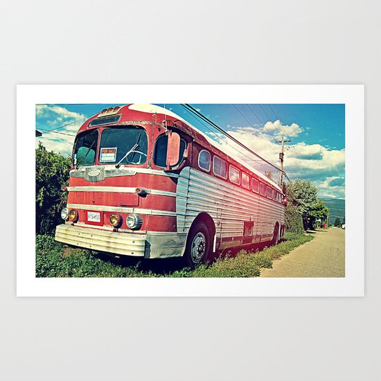 Roadie Art Print