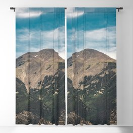 Mountain Adventure Colorado Rocky Adventure II - Nature Photography Blackout Curtain