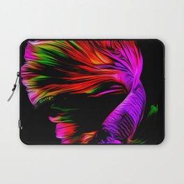Abstract Betta fish Laptop Sleeve