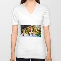 colombia V-neck T-shirts featuring Colombia diverse. by Alejandra Triana Muñoz (Alejandra Sweet