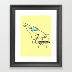 Cartoon Car Tunes Framed Art Print