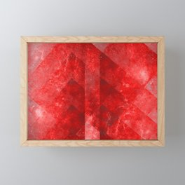 Ruby Nebulæ Framed Mini Art Print