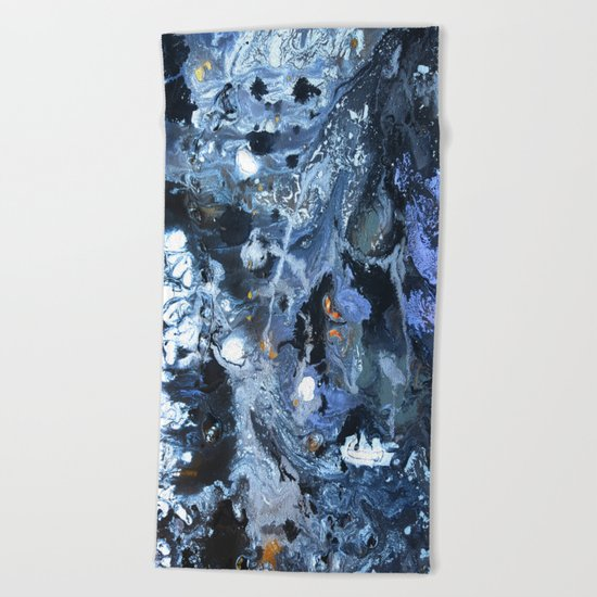 Lunar Surface Beach Towel
