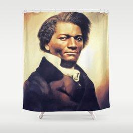 Frederick Douglass, Literary Legend Shower Curtain