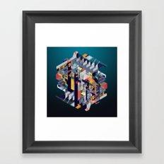Habitat for Humanoids Framed Art Print