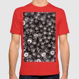 Chrome dumbbells T-shirt