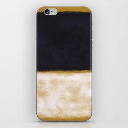Rothko Inspired #10 iPhone Skin