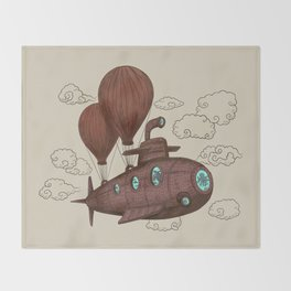 The Fantastic Voyage Throw Blanket