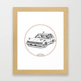 Crazy Car Art 0213 Framed Art Print