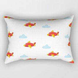 Cute plane pattern Rectangular Pillow