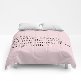 darling fall brings change Comforters