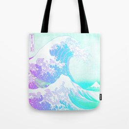 The Great Wave Unicorn Tote Bag